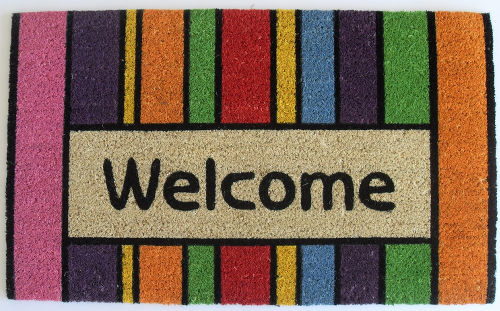 welcome mat image